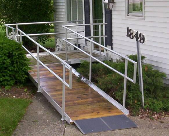 Residential Accessibility Ramp in Sandston, VA - Richmond Ramps