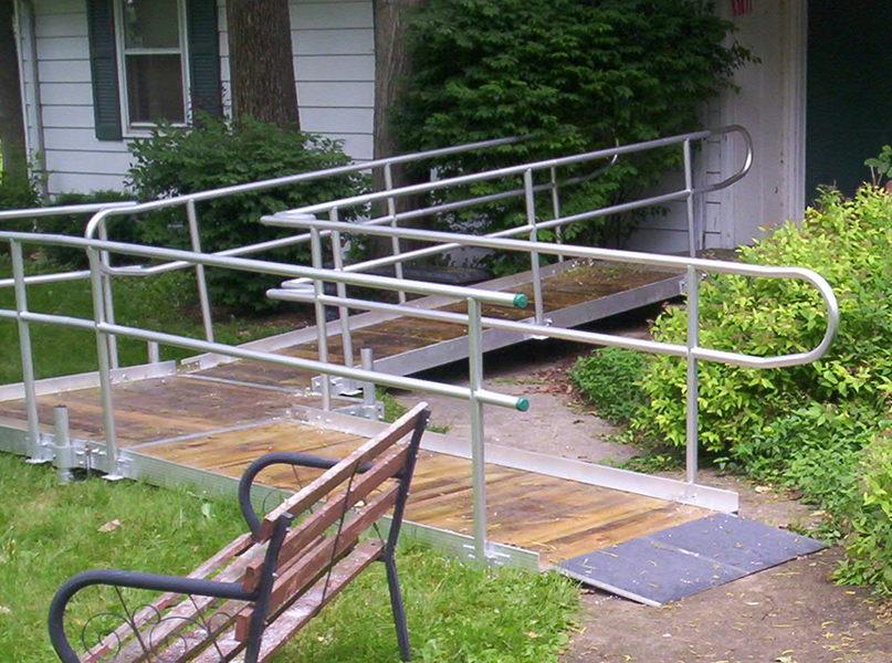 Residential Accessibility Ramp in Quinton, VA - Richmond Ramps