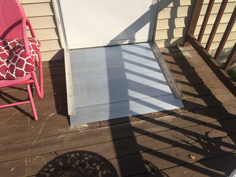 Wheelchair Accessibility Ramp Removal (Richmond Ramps